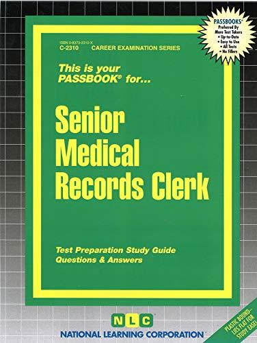 Senior Medical Records Clerk