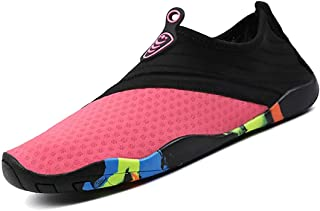 Barefoot Water Shoes Beach Shoes Women Mens Kids Sports Aqua Shoes Swim Shoes for Beach Boating Fishing Yoga Diving Surfin...