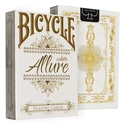Bicycle Allure White Deck by Gambler's Warehouse