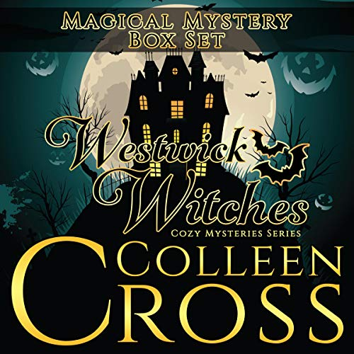 Westwick Witches Magical Mystery Box Set: Witch Cozy Mysteries Books 1 -3     Westwick Witches Cozy Mysteries Series              By:                                                                                                                                 Colleen Cross                               Narrated by:                                                                                                                                 Petrea Burchard                      Length: 17 hrs and 27 mins     2 ratings     Overall 3.5