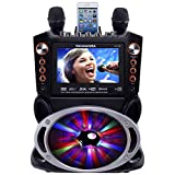Karaoke USA GF846 DVD/CDG/MP3G Karaoke Machine with 7 TFT Color Screen