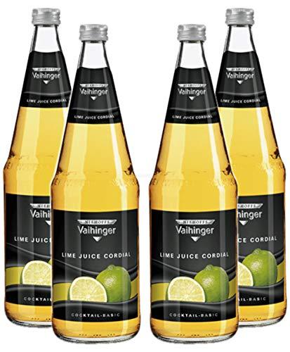 Niehoffs Vaihinger Lime Juice 1L VDF - 4er Set inkl. Pfand MEHRWEG
