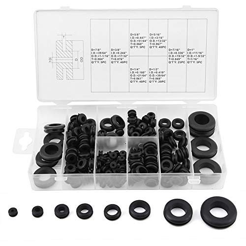 Rubber Grommet, Mineral Oil-Resisting Rubber Cable Grommet, for Pipes Hydraulic