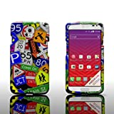 LG Volt LS740 Case [CoverON Snap Fit Series] Slim Shell Style with Enhanced Rubberized Matte Grip [Hard Thin Plastic Shield] Phone Cover Case for LG Volt LS740 - Street Road Signs Design …
