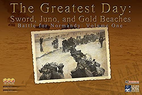 garantía de crédito MMP  Greatest Day, Day, Day, the Battle for Normandy, Vol. 1, Board Game by MMP Multi-Man Publications  compras de moda online