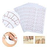 adesivo ciglia,eye lashes extension adesivo adesivo ciglia isolamento posizionamento pads patches strumento(140 pcs)