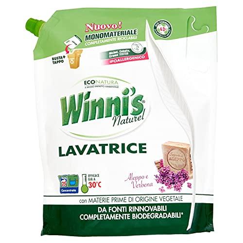 Winni's Detersivo per Lavatrice Ipoallergenico, 1.25L