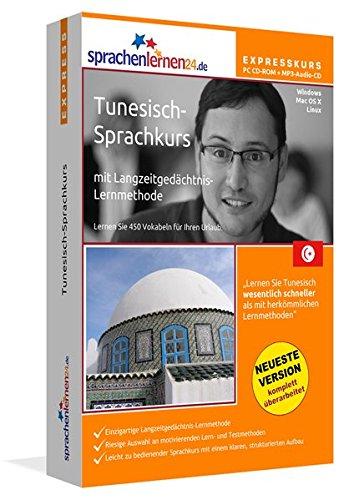 Sprachenlernen24.de Tunesisch-Express-Sprachkurs PC CD-ROM für Windows/Linux/Mac OS X + MP3-Audio-CD: Werden Sie in wenigen Tagen fit für Ihre Reise nach Tunesien