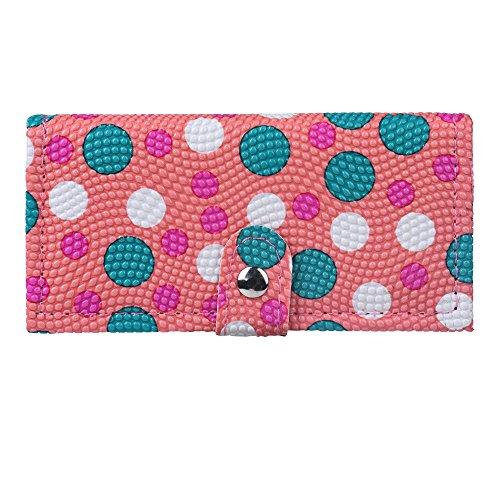 yuyuanDO Wallet Eyeshadow Lip Gloss Ensemble de poudre à sourcils rouge - Lustre et Matte Nude - Aucun défaut (Pink)