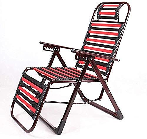 Recliner schommelstoel, Zero Gravity Leisure Chair, elastische stoel klapstoel, draagbaar ademend siësta-bed, voor buitenterras, kamperen