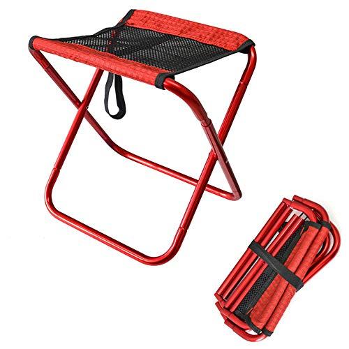 JONJUMP Silla plegable de camping para pesca, barbacoa, senderismo, silla ultraligera, herramientas al aire libre, playa, picnic, asiento plegable