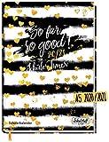 Schulstuff Schülertimer 2020/2021 A5 [Heart of Gold] Schülerkalender, Schüler-Tagebuch, Schülerplaner - organisiert durchs neue Schuljahr   nachhaltig & klimaneutral