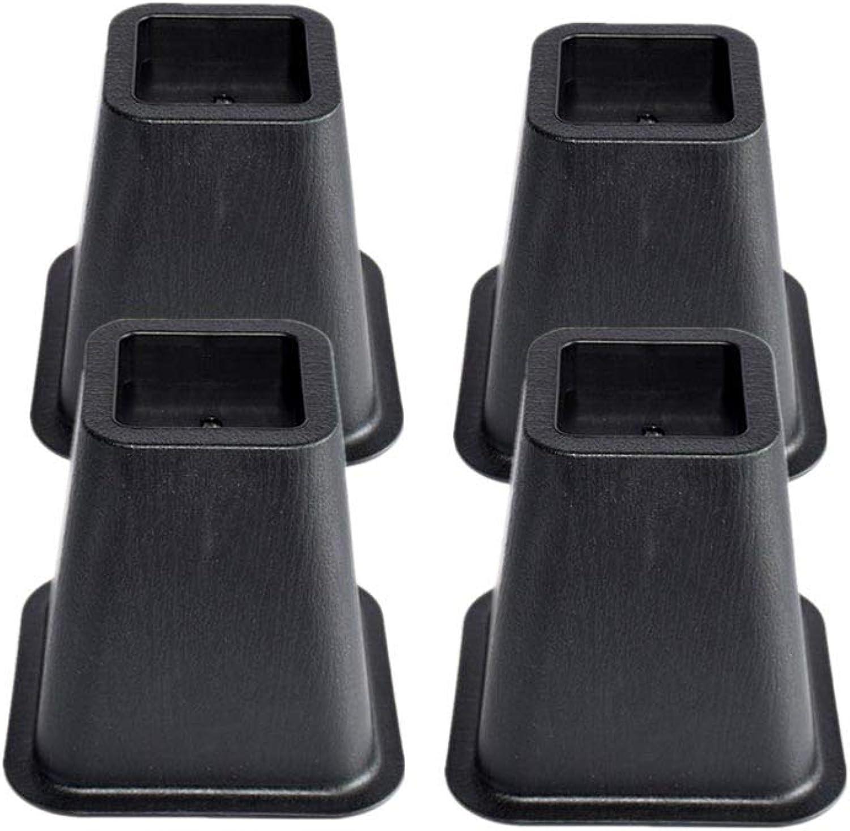 Vosarea Möbel Höhe Füße Matte Imprägnierung für Home Bed Table 4pcs (schwarz) B07KXRZFJW