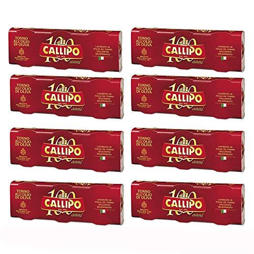 Tonno Callipo all'Olio di Oliva Calabria 24 x 80 gr - Totale: 1920 gr