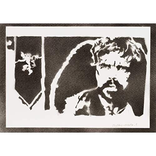 Poster Tyrion Lannister Il Trono di Spade Game of Thrones Handmade Graffiti Sreet Art - Artwork