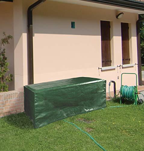 I Giardini Del RE Copertura per Tavoli Cm.205X105X70, Multicolor