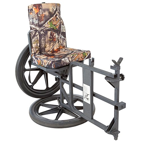 Kill Shot Throne Multipurpose Game Cart & Hunting Chair with Cushion