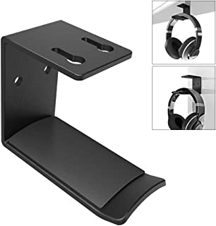 Headphones Hook Mount, 6amLifestyle Under Desk Space Saving 3M Headset Holder Hanger Wall Mount Earphone Holder Display fo...