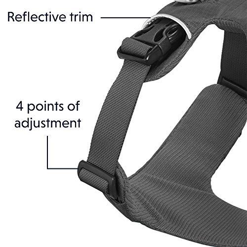 Ruffwear All-Day Dog Front Range Harness, Grey (Twilight Grey), L/XL