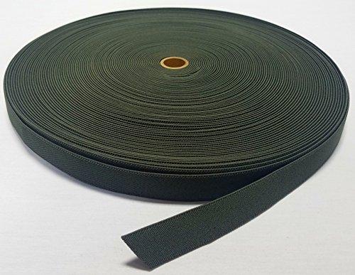 1 YARD - MIL SPEC 1' ELASTIC WEBBING / MOLLE WEBBING - OLIVE (OD) GREEN