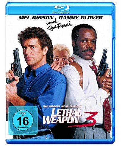 BLU-RAY - Lethal Weapon 3 (1 Blu-ray)