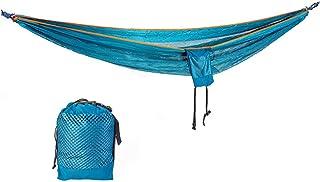 Hamaca ultraligera de viaje para camping hamaca para exteriores capacidad de carga de 200 kg (260 x 150 cm) transpirab...
