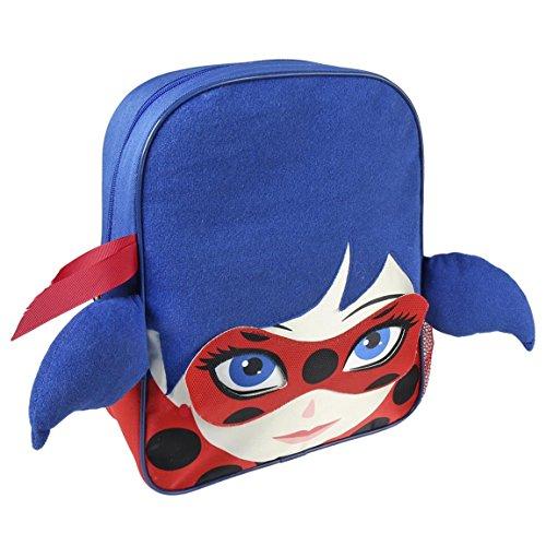 Cerdá Lady Bug Zainetto per bambini, 31 cm, Blu (azul)