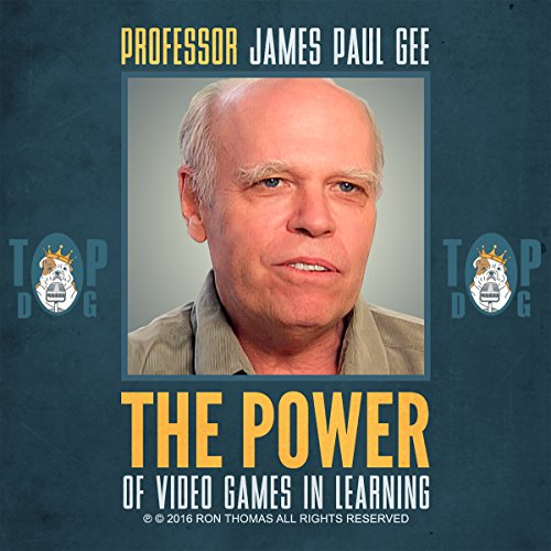 The Power of Video Games in Learning audiobook cover art