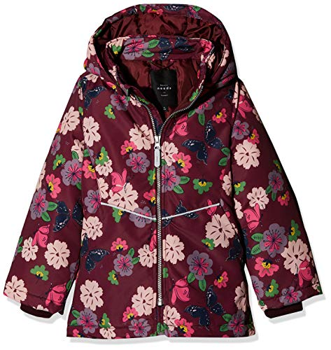 NAME IT Mädchen NKFMAXI Jacket Butterfly Jacke, Mehrfarbig (Port Royale Port Royale), (Herstellergröße: 116)