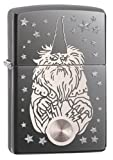 """Genuine zippo windproof lighter with distinctive zip click Made in the USA All metal construction Lifetime guarantee that it works or we fix it for free Genuine Zippo windproof lighter with distinctive Zippo """"Click"""" Made in the USA All metal construc..."""