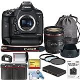 Canon EOS-1DX Mark II DSLR Camera w/Canon EF 24-70mm f/4L is USM Lens (International Model) Bundle