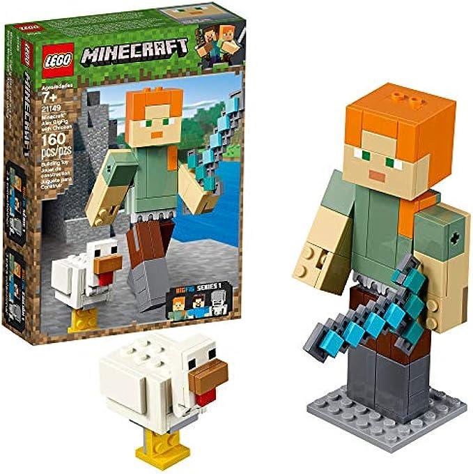 LEGO Minecraft אלכס ביג פיג 21149