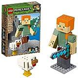 LEGO Minecraft Alex BigFig with Chicken 21149 Building Kit (160 Pieces) (Discontinued by Manufacturer)