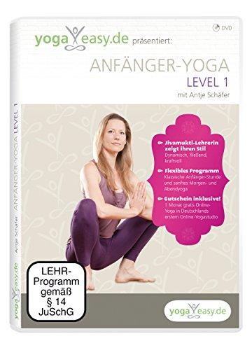 YogaEasy.de - Anfänger-Yoga Level 1 mit Antje Schäfer