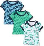 Care Baby-Jungen T-Shirt im 3er Pack Mehrfarbig (Winter Green 931), 92