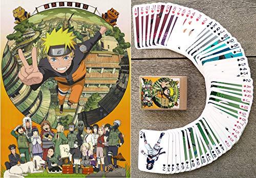 KOSHIZU Naruto Kartenspielen (Poker 54 Karten alle Anders) Anime Manga Naruto
