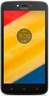 هاتف موتورولا موتو سي ثنائي شرائح الاتصال، ذاكرة داخلية 16 جيجا وذاكرة رام 1 جيجا، الجيل الرابع ال تي اي، لون ذهبي فاخر