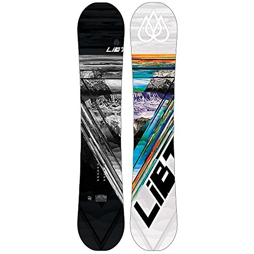 LIB Tech Herren Freestyle Snowboard T-Rice HP 157 Black C2