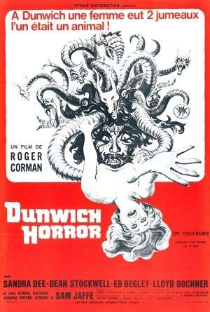 The Dunwich Horror – French Movie Wall Poster Print - 43cm x 61cm / 17 Inches x 24 Inches A2