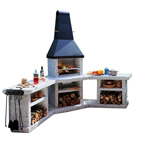 Preisvergleich Produktbild Wellfire Toskana Quatro Grillkamin Außenküche