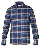 Fjällräven Sarek Heavy, Camicia di flanella Uomo , Blu, XL