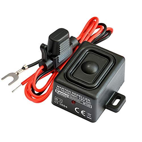 Kemo M180 Marderscheuche IP65 zur Verscheuchung von Mardern in Autos, Häusern. Erzeugt aggressive Sinus-Ultraschalltöne. Wasser- und Schmutzbeständig