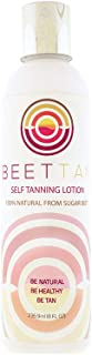 Sponsored Ad - BeetTan Self Tanning Lotion (Organic) Natural Indoor Sunless Tanner Cream Made From DHA Beet Extract (Stain...