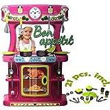 Dohany Kinderküche Spielküche aus robustem Kunststoff mit Zubehör