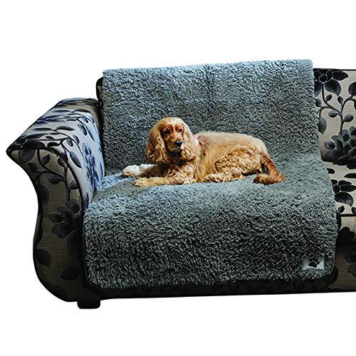 Pet Rebellion Cómoda funda antideslizante acolchada de espuma para perro, absorbente, lavable, protector de sofá o cama – Tamaño extra grande 100 cm x 170 cm – Totalmente garantizado