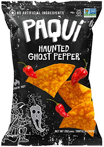 Paqui Tortilla Chips Ghost Pepper 6 - 2 oz bags