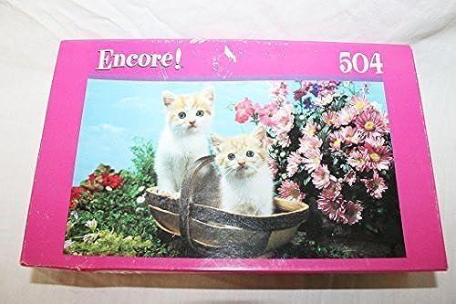 punto de venta en línea Encore Encore Encore 504 piece jigsaw Twin Kittens puzzle by Mega Puzzles by Mega Puzzles  ventas calientes