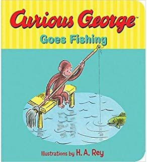 Curious George Goes Fishing - Hardcover