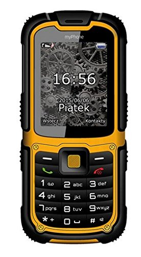 "myPhone Hammer 2 2.2\"" 213g Negro, Naranja Característica del teléfono - Teléfono móvil (Barra, SIM Doble, 5,59 cm (2.2\""), 2 MP, 1450 mAh, Negro, Naranja)"