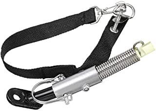 Universal Bike Trailer Hitch Coupler Quick Release Steel Linker Adapter Attachment